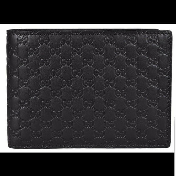 Gucci Other - Gucci Men's GG Guccissima Large Leather Bifold
